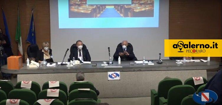 Prima seduta del Consiglio regionale della Campania – VIDEO - aSalerno.it