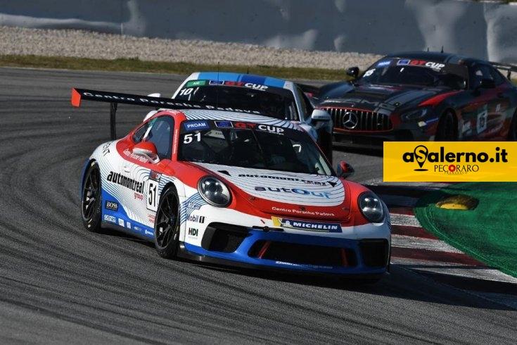 Salerno gioisce, Festante vince la GT Open Cup su Porsche a Barcellona - aSalerno.it