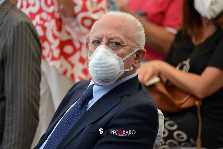 De Luca convoca riunione con le Camere di Commercio - aSalerno.it