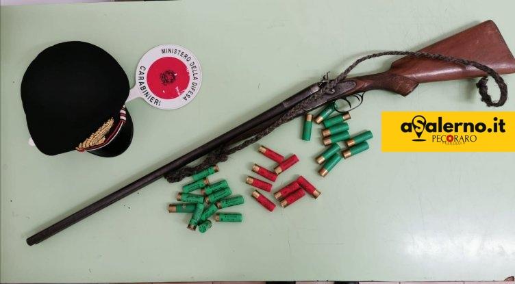 Contursi, arrestato 63enne: un fucile calibro 16 nascosto in camera da letto - aSalerno.it
