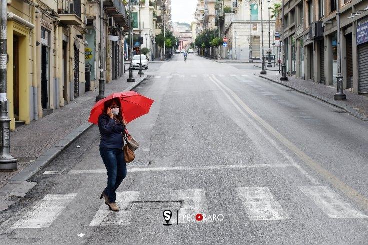 Salerno vive il primo giorno da zona rossa – REPORTAGE - aSalerno.it