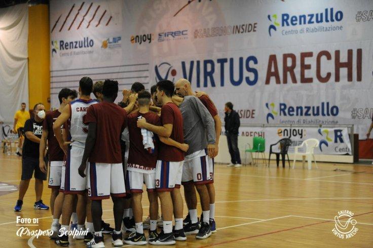 La Virtus Arechi si esalta nel derby, che vittoria ad Avellino - aSalerno.it
