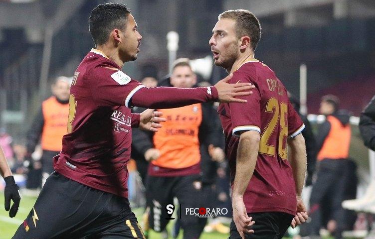 Salernitana, Anderson inventa e Capezzi finalizza: Lecce sotto (1-0 pt) - aSalerno.it