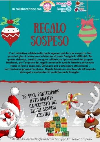 """""""Regalo Sospeso"""": l'iniziativa solidale per regalare la magia del Natale ai bambini delle famiglie bisognose - aSalerno.it"""