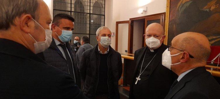 Salerno, Coldiretti dona 10 quintali di pasta alla Caritas - aSalerno.it