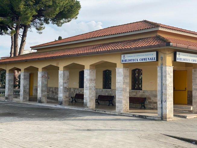 Capaccio, speciale restyling per la biblioteca - aSalerno.it