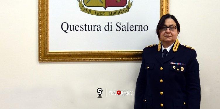 Si è insediata Stefania Grasso, nuovo Capo di Gabinetto della Questura di Salerno - aSalerno.it