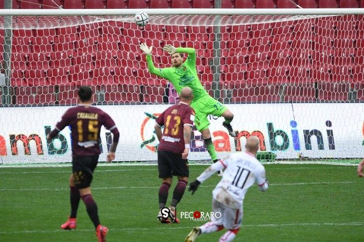 Salernitana, Aya illude: Giacomelli ed il Vicenza ingannano Belec (1-1) - aSalerno.it