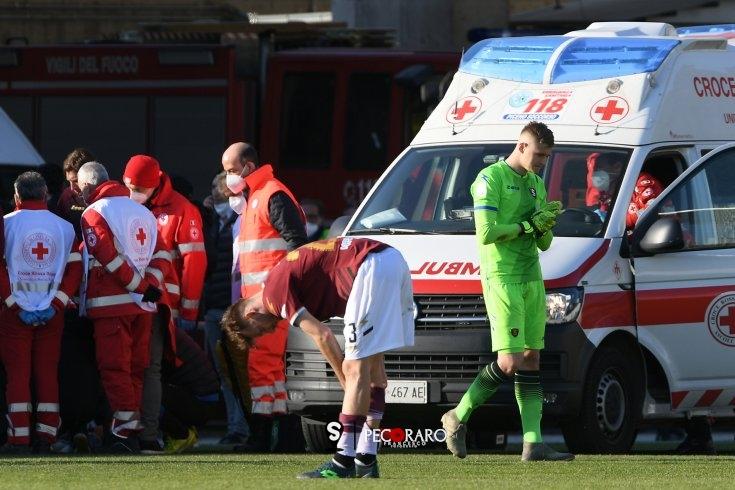 """D'Arrigo: """" Per Patrik non c'è stato bisogno del defibrillatore"""" - aSalerno.it"""