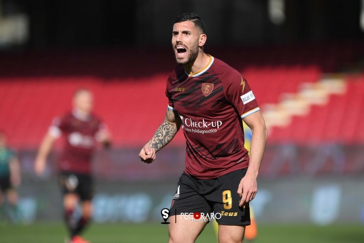 Salernitana, Tutino fa centro: Chievo sotto 1 a 0 (pt) - aSalerno.it