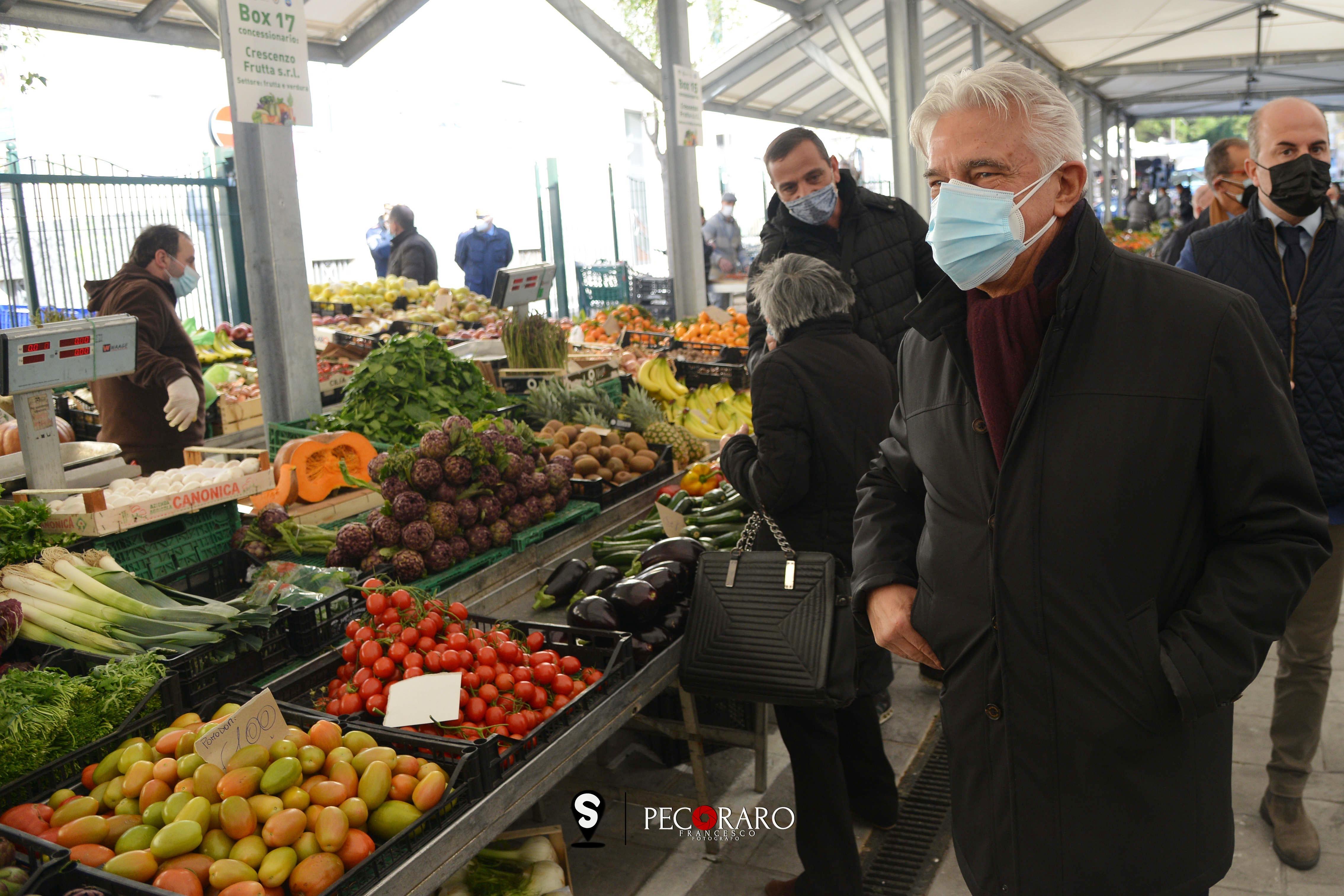 22 02 2021 Inaugurazione Mercato rionale via Piave