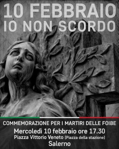 Salerno, fiaccolata in memoria dei martiri delle foibe - aSalerno.it