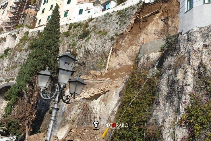 """Frana Amalfi, Cammarano (M5S): """"Area a elevato rischio idrogeologico"""" - aSalerno.it"""
