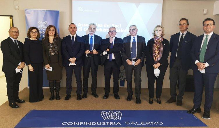 Antonio Ferraioli è il nuovo Presidente di Confindustria Salerno - aSalerno.it