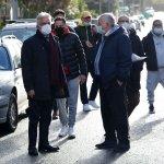 Sopralluogo del sindaco Vincenzo Napoli in via Premuda