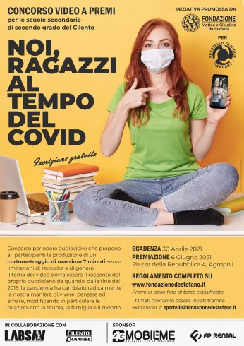 """""""Noi, ragazzi al tempo del Covid"""", concorso dei corti in Cilento - aSalerno.it"""
