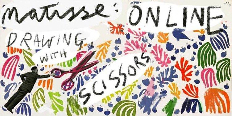 """L'arte di Matisse impazza sul web, l'evento sul """"dipingere con le forbici"""" è virale - aSalerno.it"""