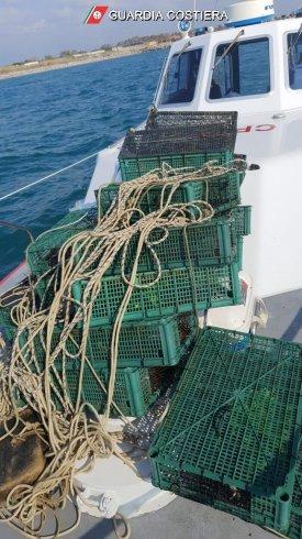 Pesca illegale a Salerno, 20 nasse scoperte in mare dalla Guardia Costiera – LE FOTO - aSalerno.it
