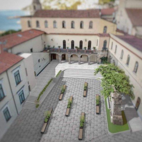 Amalfi e la sua piazza Municipio, nuova vita in un progetto - aSalerno.it