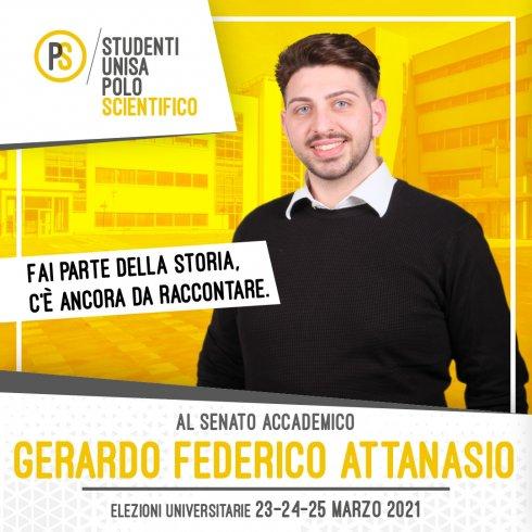 """Elezioni rappresentanti studenti Unisa, in """"campus"""" Gerardo Federico Attanasio - aSalerno.it"""