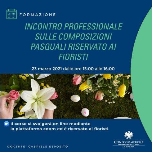 Salerno e le composizioni pasquali, Federfiori organizza un incontro speciale - aSalerno.it