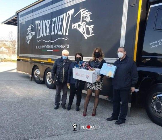 """""""Vola Colomba"""", il progetto solidale di Nancy Mastia col suo Truck Event - aSalerno.it"""