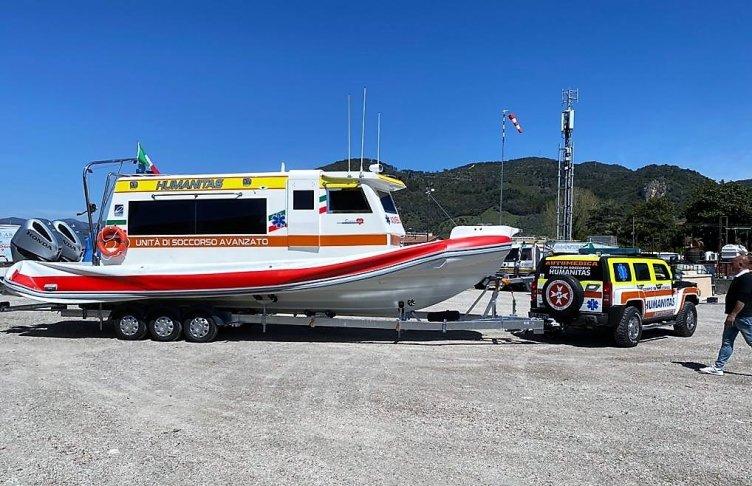 Rianimazione, a Salerno l'unica ambulanza del mare in Italia - aSalerno.it