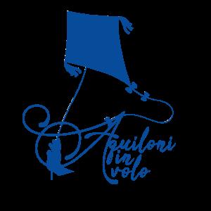 Aquiloni in volo blue