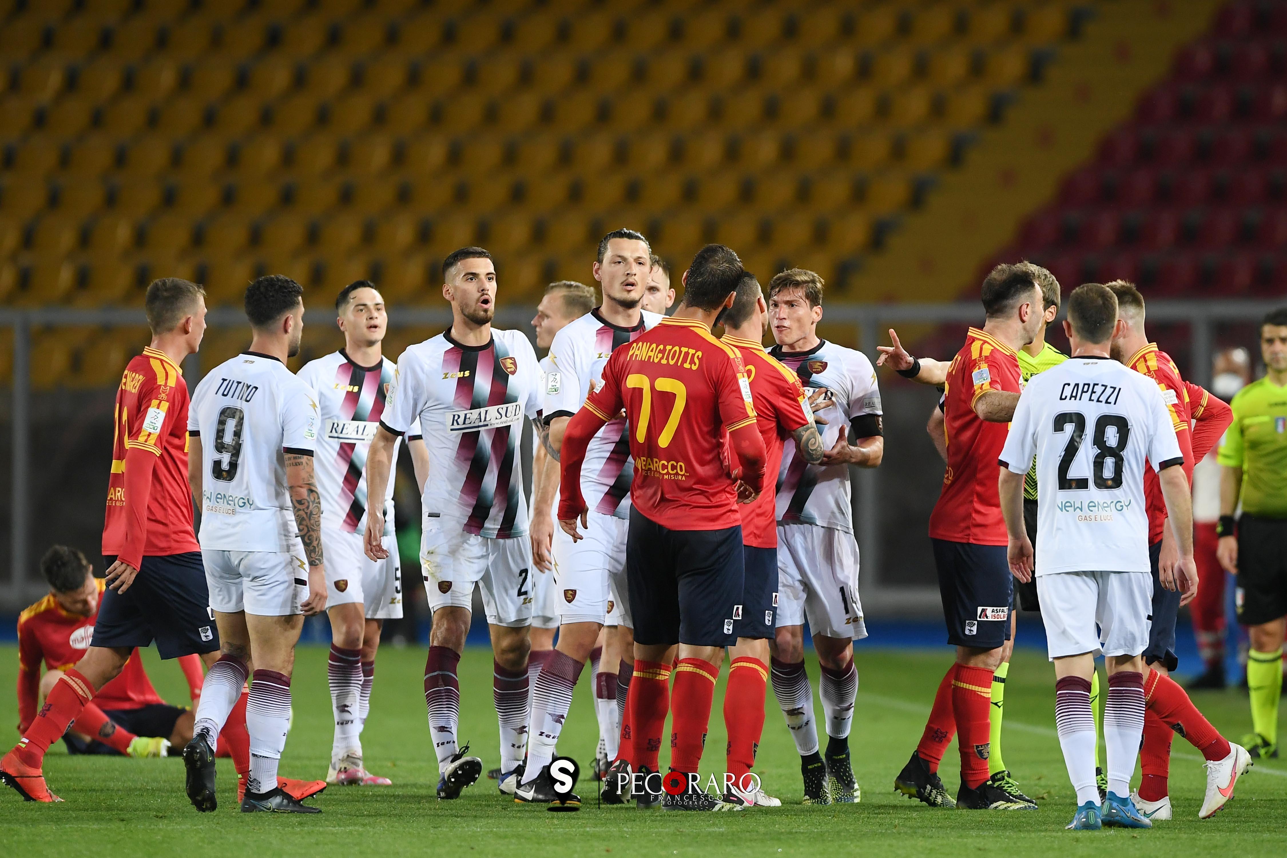 Lecce vs Salernitana - Serie BKT 2020/2021