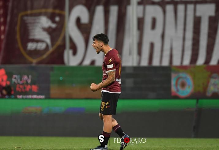"""Cicerelli: """"Felice per il gol. Daremo fastidio a tutti per coronare un sogno"""" - aSalerno.it"""