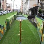 Salerno Inaugurazione trincerone Est