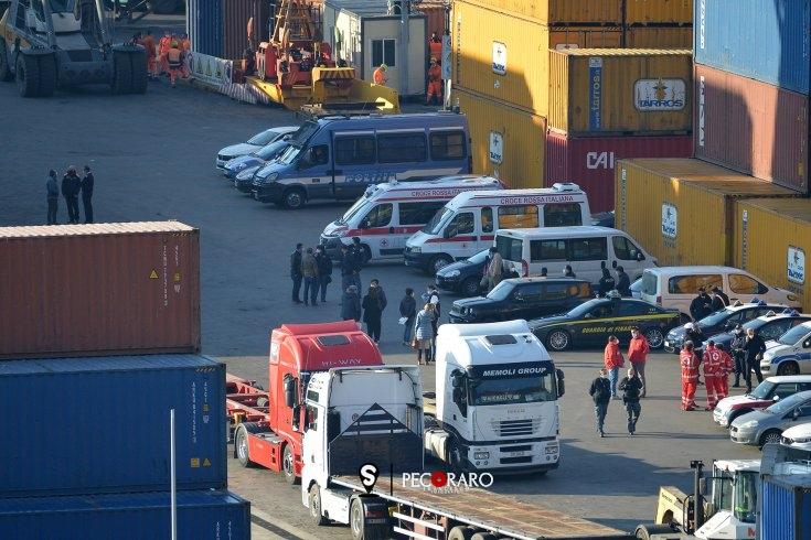 Incidente sul lavoro al Porto di Salerno, grave 30enne salernitano - aSalerno.it