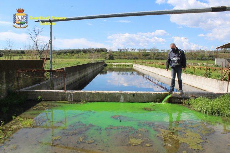 Detergenti chimici e smaltimento illecito nei torrenti e corsi d'acqua del Tusciano - aSalerno.it