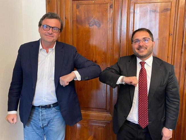 """Maraio incontra Calenda: """"Prossime amministrative saranno banco di prova"""" - aSalerno.it"""