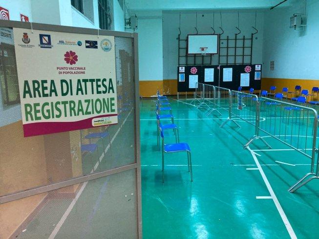 Cetara, apre il centro vaccinale di popolazione - aSalerno.it