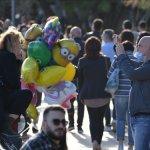 Salerno folla in città foto Francesco pecoraro/Tanopress