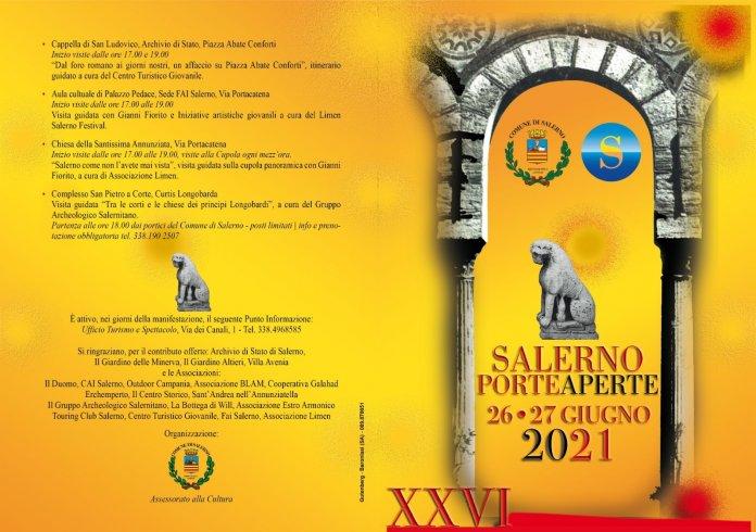 Ecco Salerno Porte Aperte, edizione Speciale San Matteo - aSalerno.it