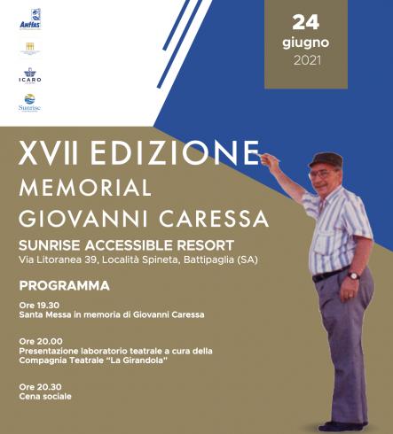 Tutto pronto per la XVII del Memorial Giovanni Caressa - aSalerno.it