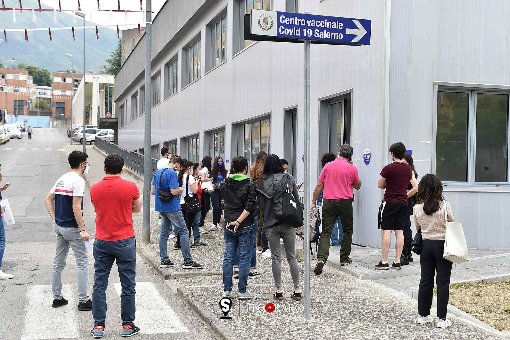 SAL - 05 06 2021 Matierno Centro Vaccinale. Open Day. Foto Tanopress