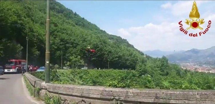 Badia di Cava de'Tirreni, uomo cade in un burrone: trasportato al Ruggi - aSalerno.it