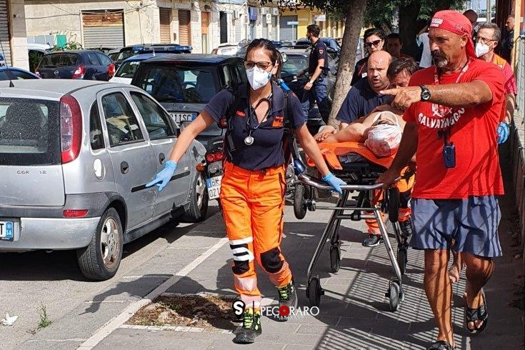 Cade dagli scogli e batte la testa: d'urgenza in ospedale – FOTO - aSalerno.it