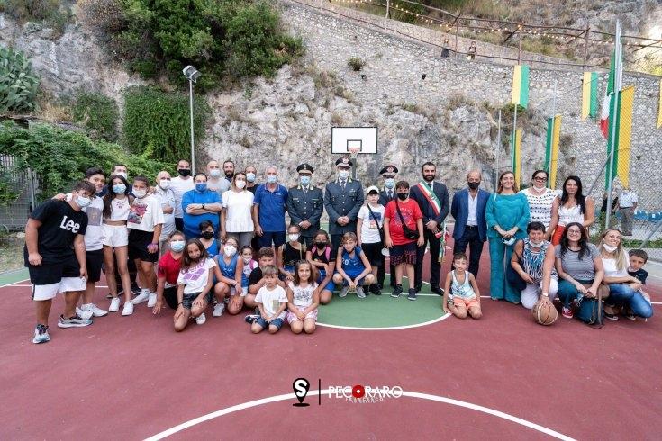 Inaugurato ad Amalfi il campo di basket - aSalerno.it