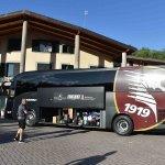 SAL - 15 07 2021 Cascia. Arrivo Salernitana Grand Hotel Elite. Foto Tanopress