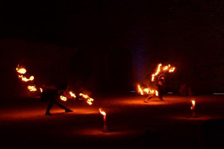 Le arti circensi ai Barbuti - aSalerno.it