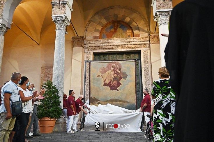 """Il dipinto """"San Matteo e l'angelo"""" di Trapanese in dono al Diocesano - aSalerno.it"""