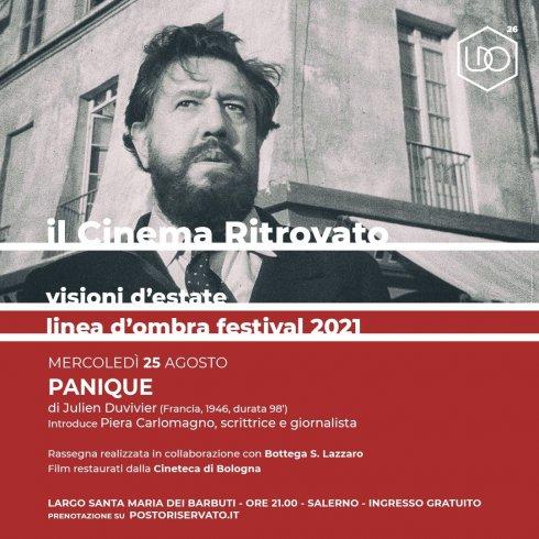 """Largo Barbuti, film d'autore: si chiude con """"Panique"""" - aSalerno.it"""