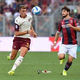 Sal - 22 agosto 2021 Bologna - Salernitana campionato serie A 2021/2022.