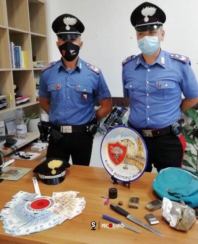 Lite nel centro storico, Carabinieri scoprono hashish in casa - aSalerno.it