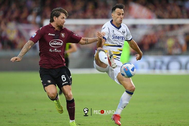 Salernitana in rimonta, 2 a 2 con il Verona - aSalerno.it