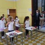 15 09 2021 Salerno Primo giorno di scuola.
